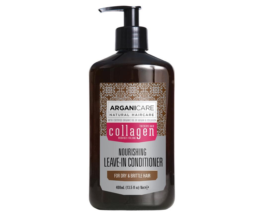 Balsam fara clatire pentru par lipsit de vitalitate si tern Collagen 400 ml