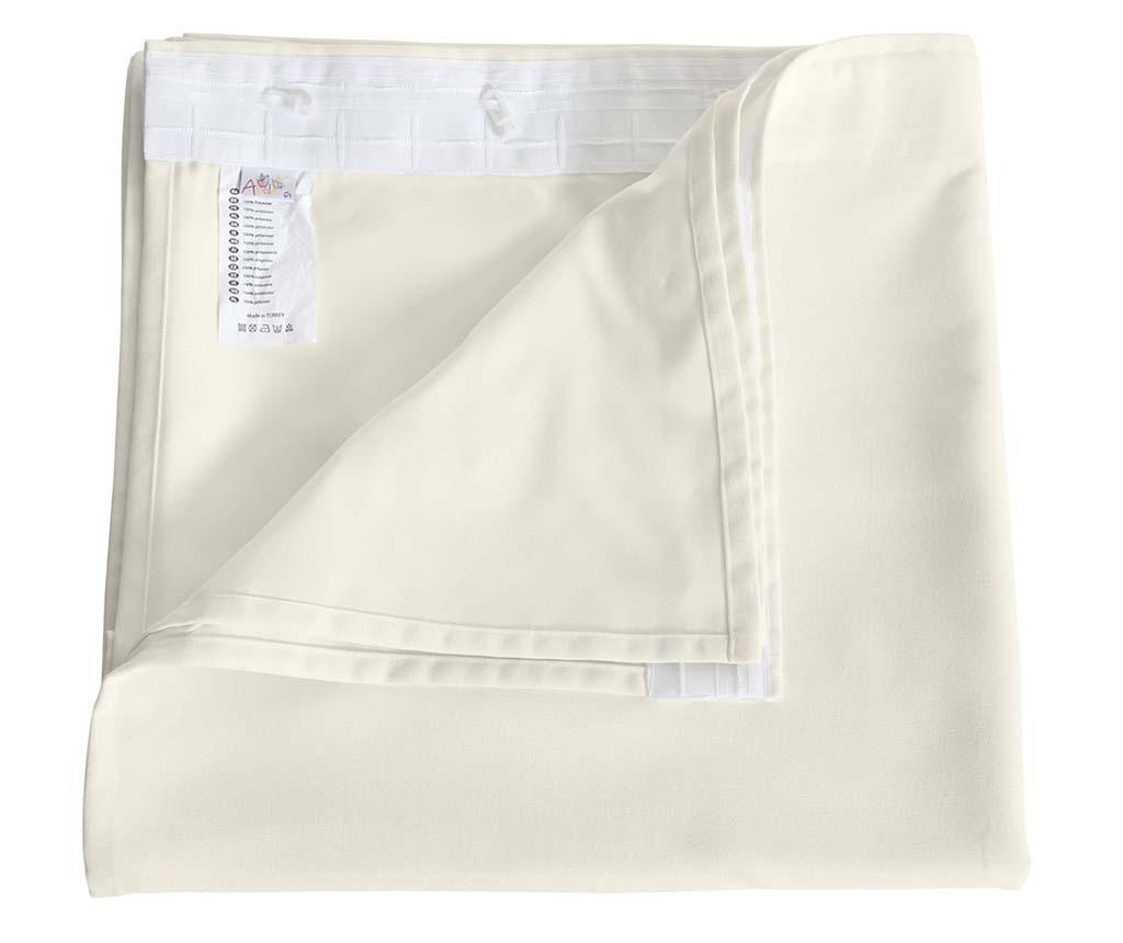 Zastor Plain Cream 140x270 cm