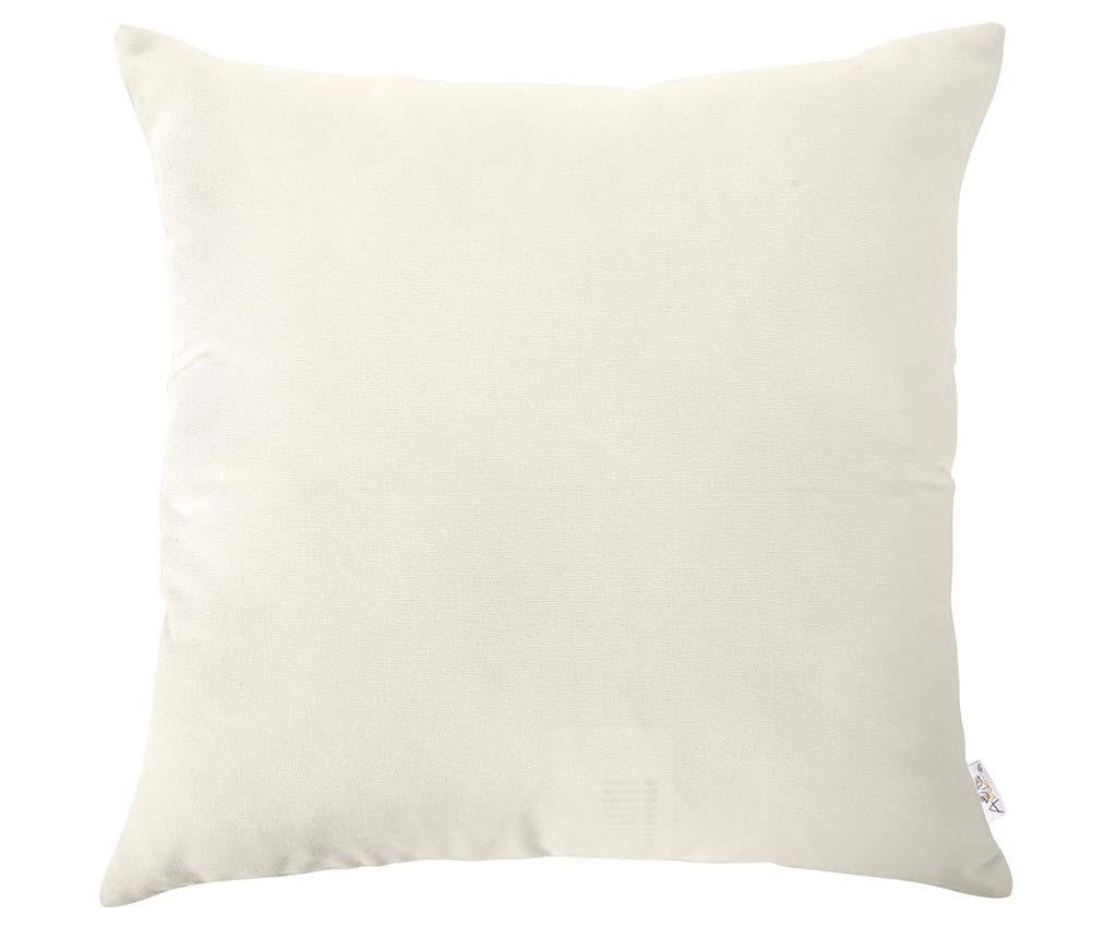 Jastučnica Plain White 43x43 cm