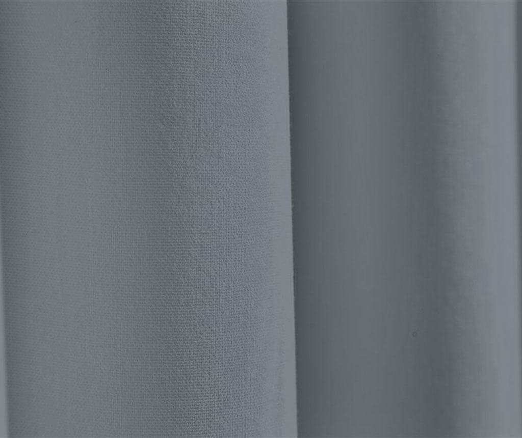 Zastor Plane Grey 140x270 cm