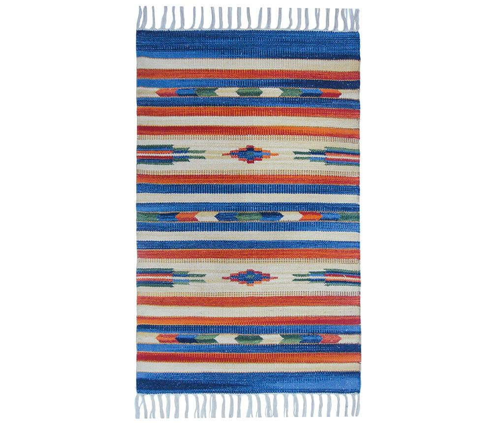 Covor tip pres Country Fringes Traditional 60x90 cm