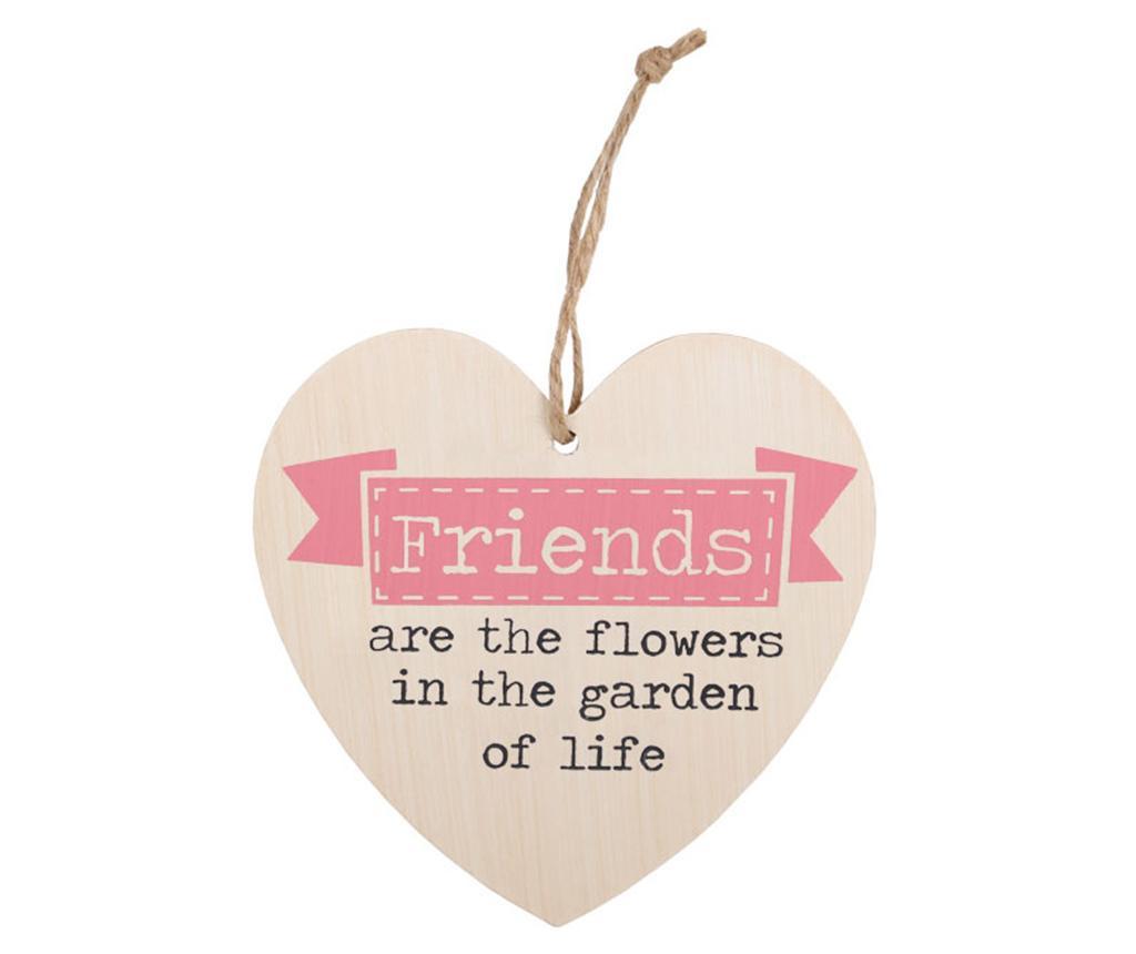 Κρεμαστό διακοσμητικό Friends Are The Flowers