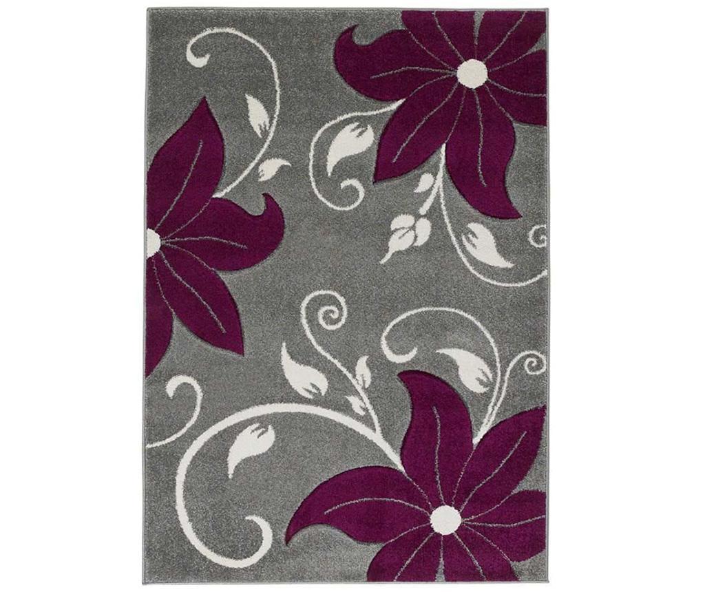 Covor Verona Grey and Purple 80x150 cm