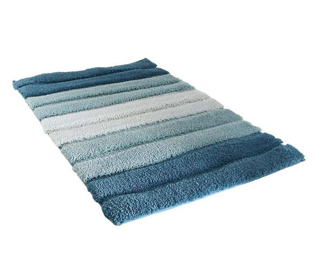 Kopalniška preproga Stripes Blue 50x70 cm