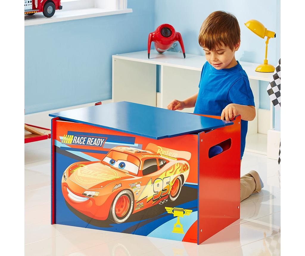 Cutie cu capac pentru depozitare Cars