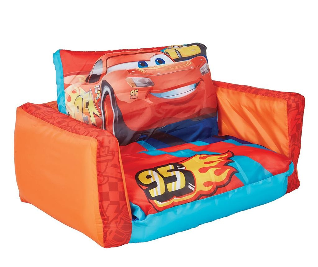 Cars Felfújható kanapé gyerekeknek