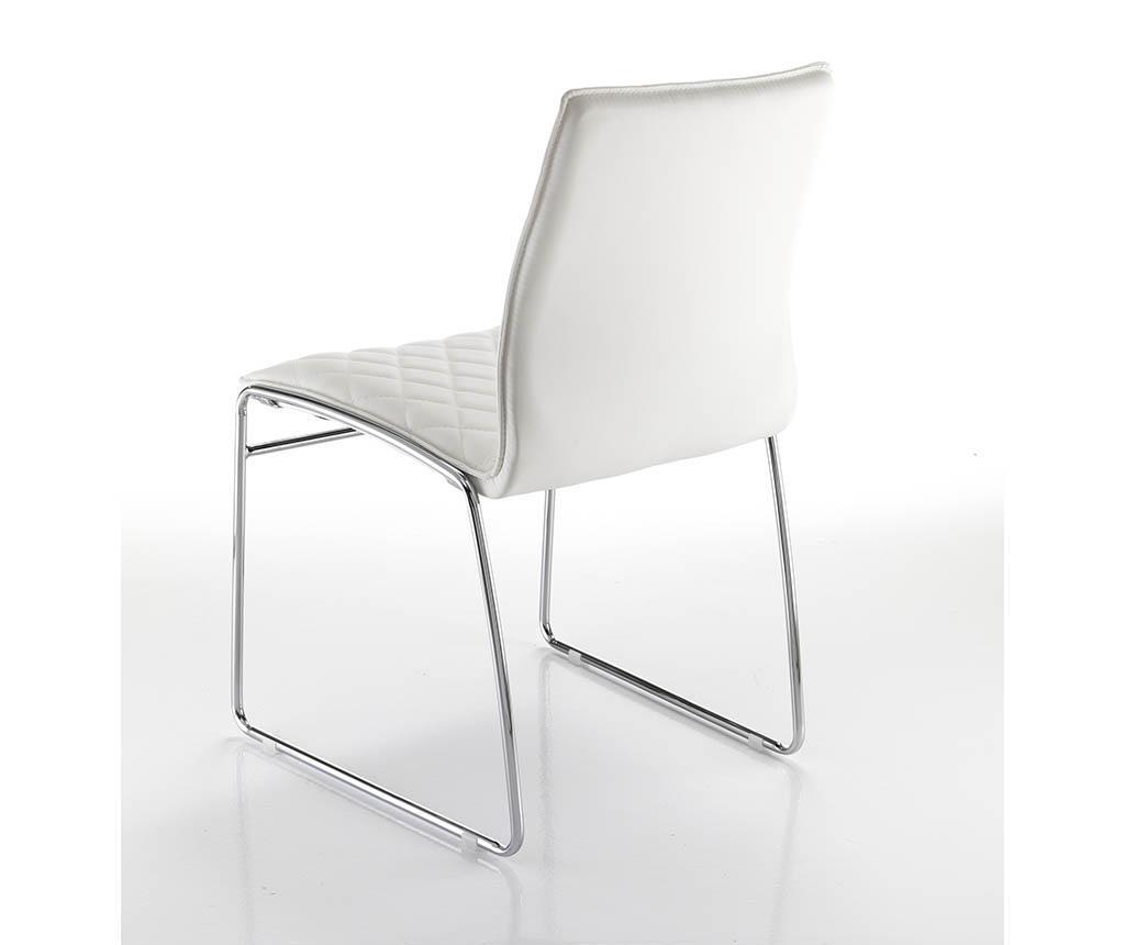 Set 4 scaune Mesh White