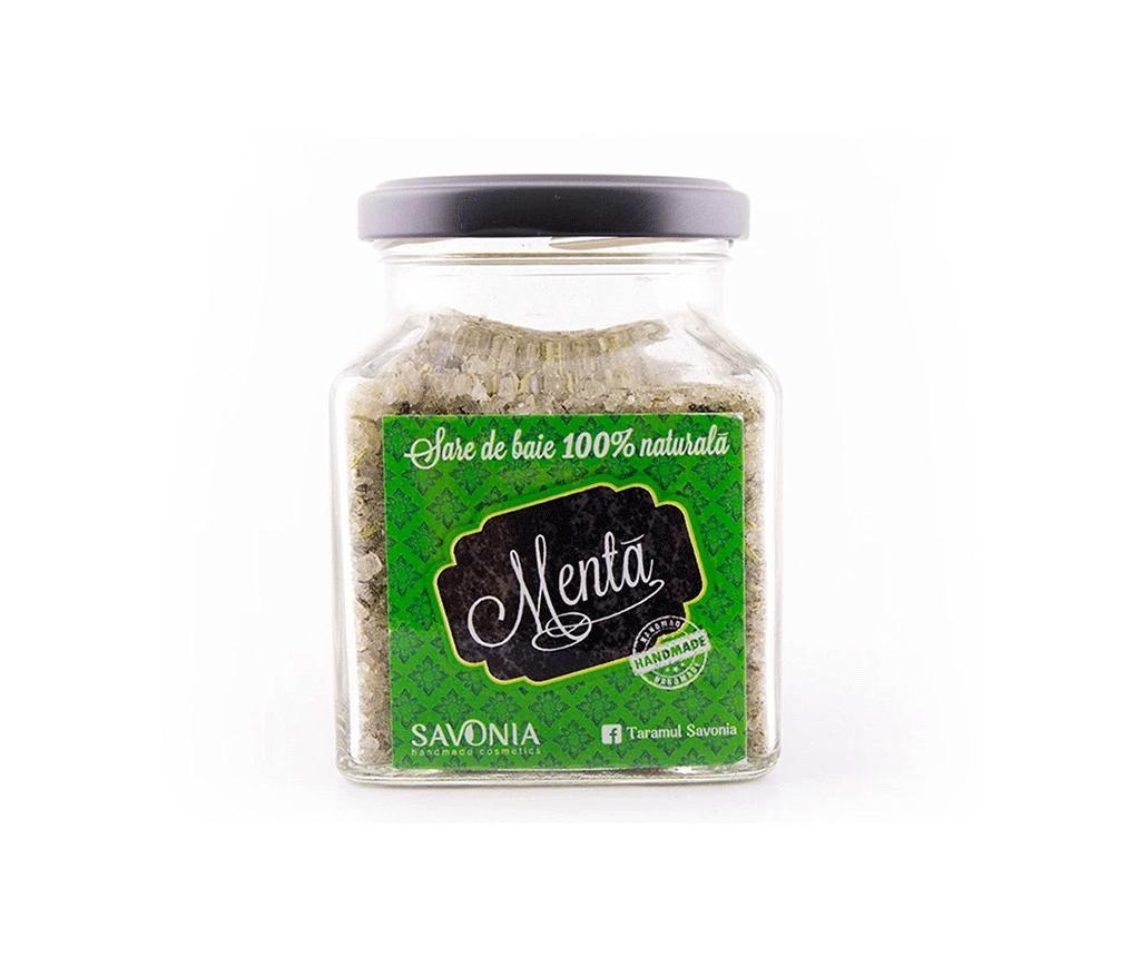 Sare de baie cu menta Savonia 250 g