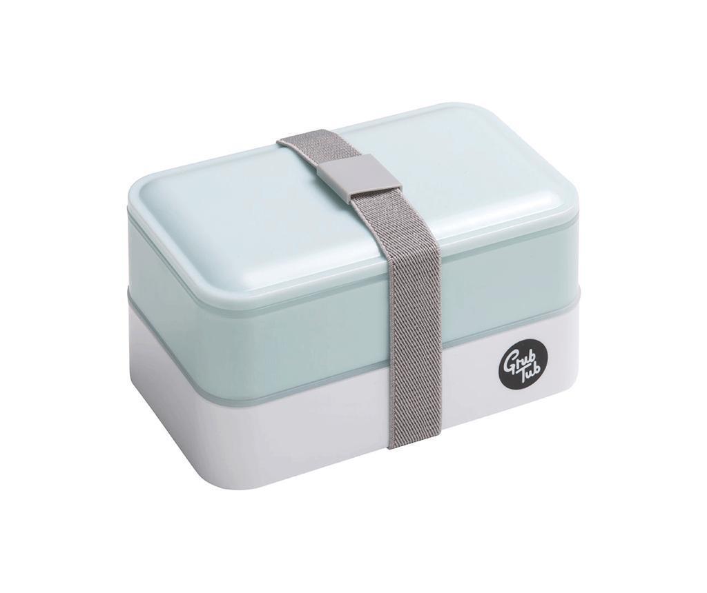 Кутия за обяд Grub Tub Light Blue