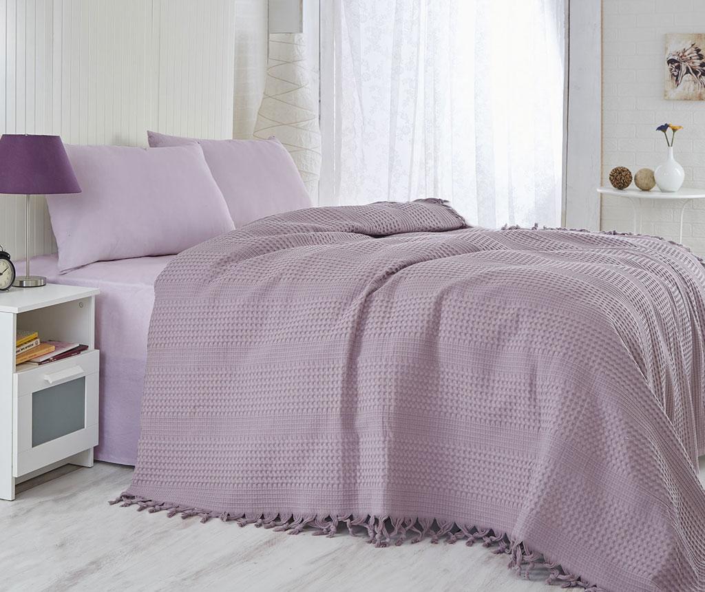 Cuvertura Pique Jesse Purple 220x240 cm