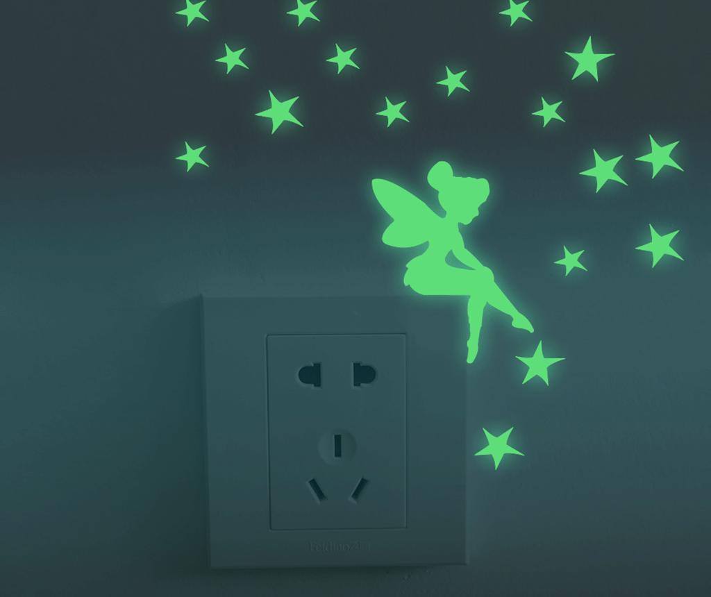 Sprinkle Fairy Stars 19 db Foszforeszkáló matrica