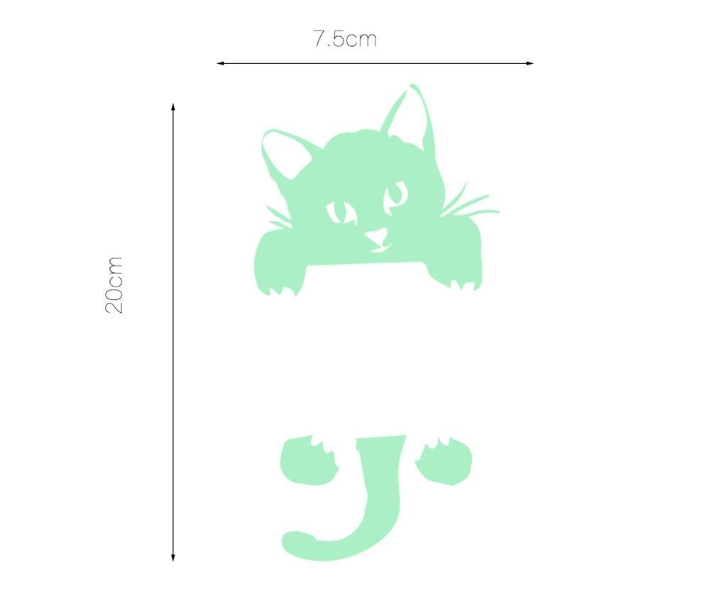 Sweet Cat Foszforeszkáló matrica