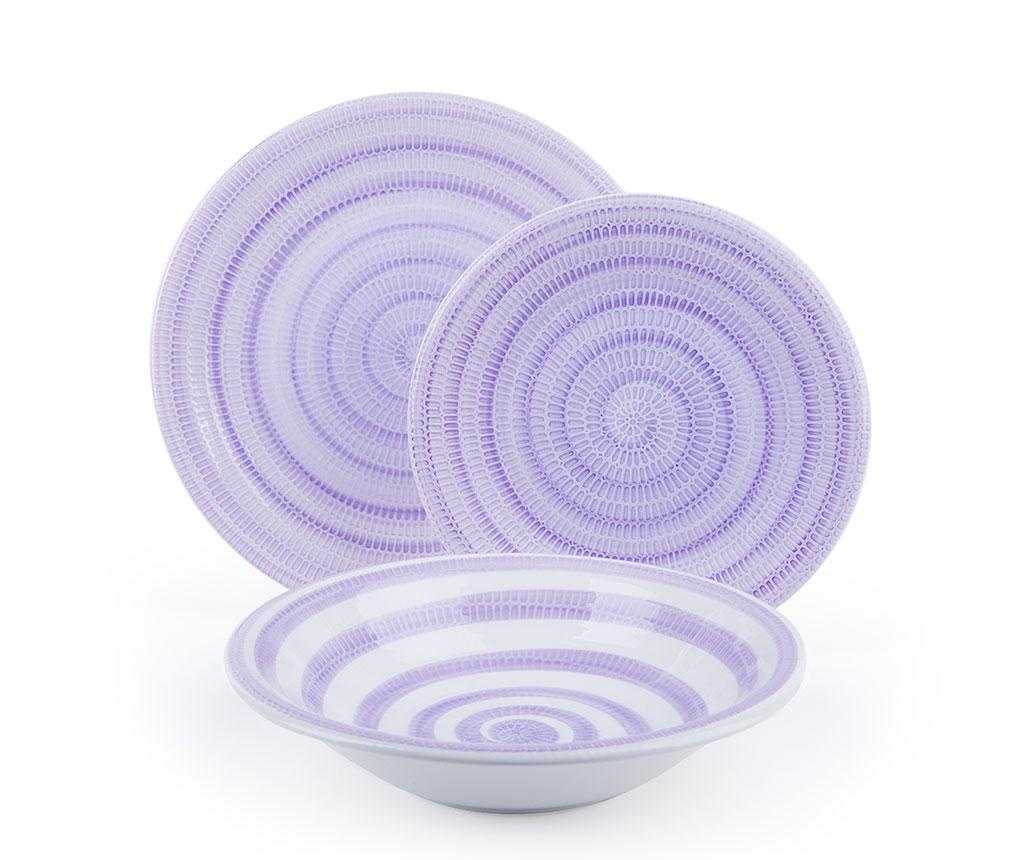 Set de masa 18 piese Old Italy Lilac