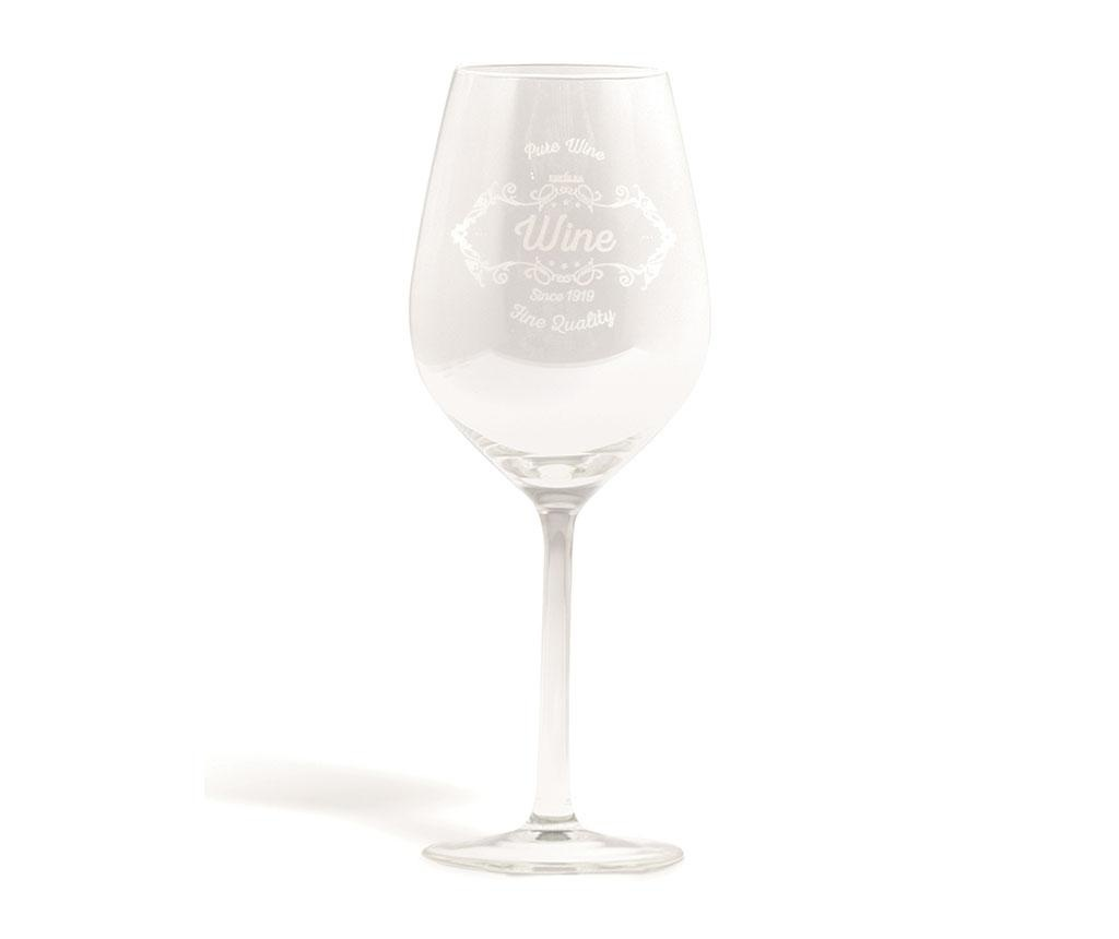 Set 6 čaša za vino Pure Vintage 500 ml