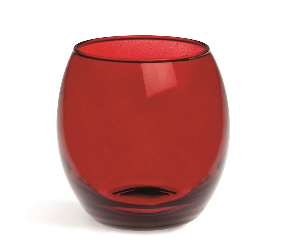 Set 6 pahare Corinto Red 405 ml