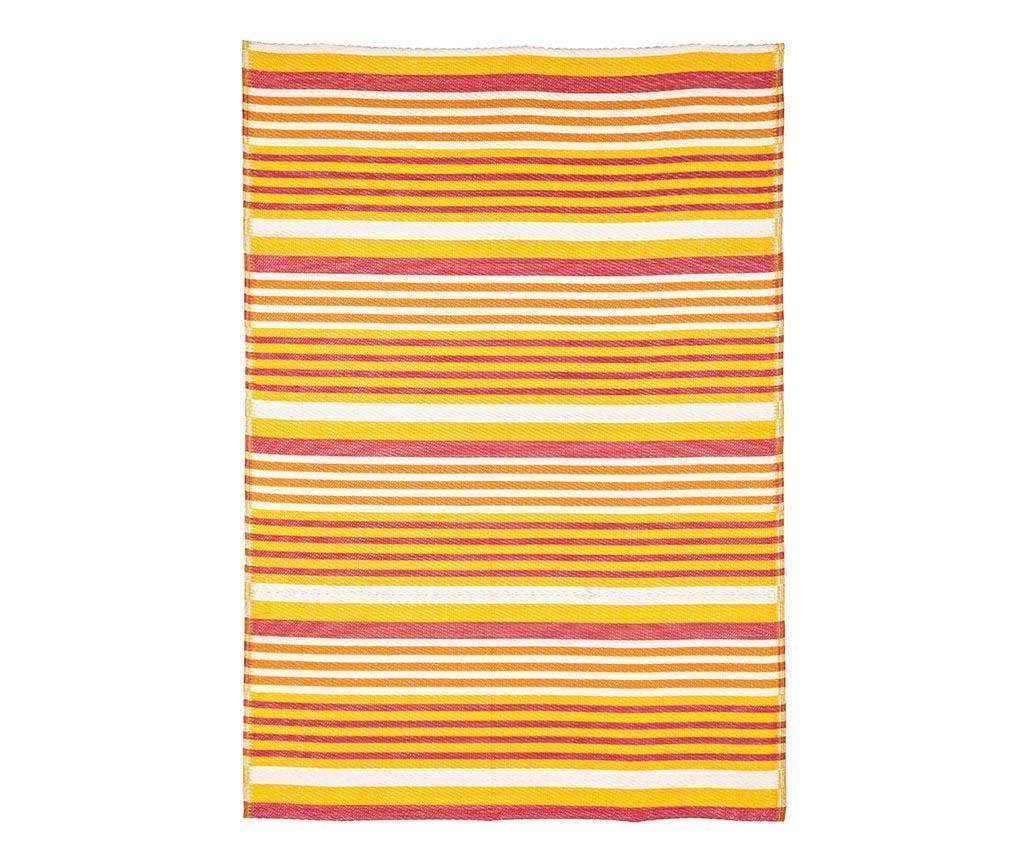 Covor tip pres Cora Yellow 120x180 cm