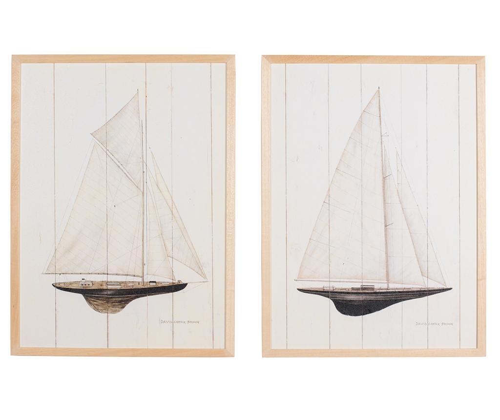 Set 2 tablouri Regata Grande 53x73 cm