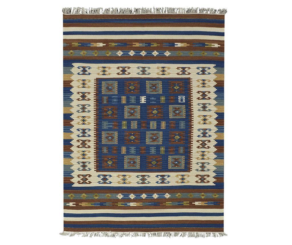 Covor Kilim Rustica Blue 75x125 cm