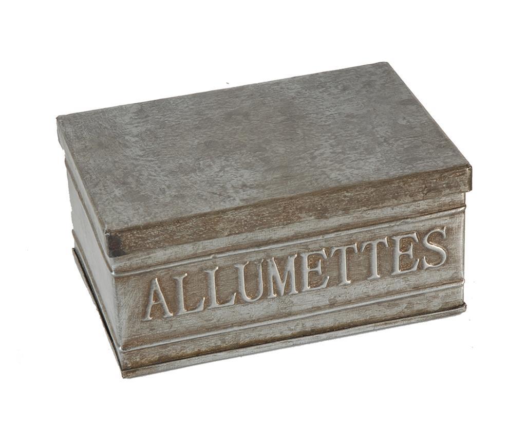 Cutie pentru chibrituri Antique Silver