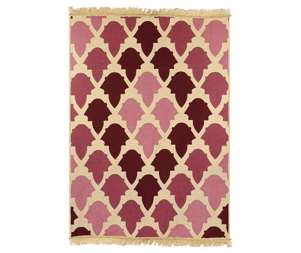 Kobereček Baklava Claret Red Pink 80x150 cm