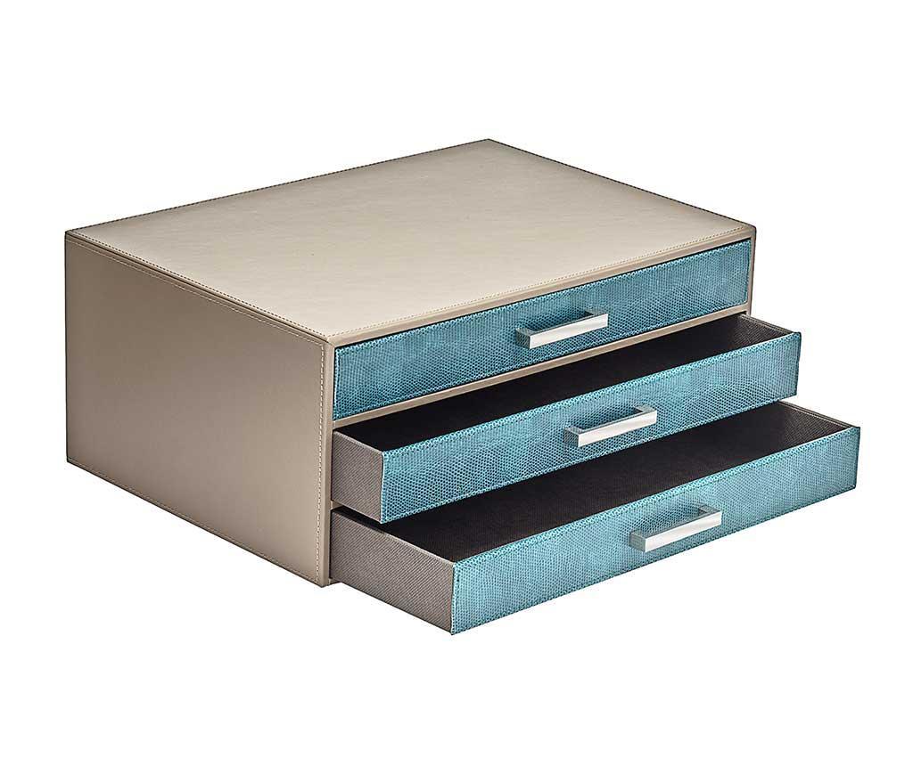 Škatla za nakit Vanil Blue