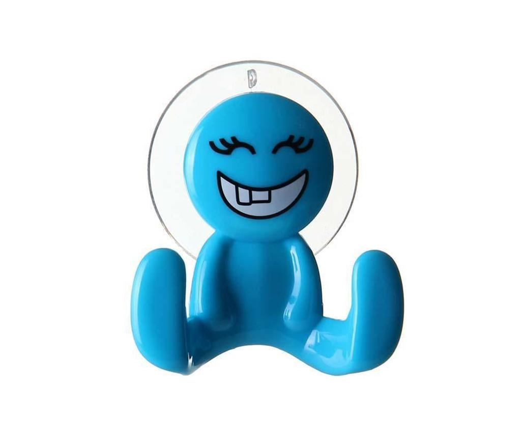 Wieszak Smiley Blue