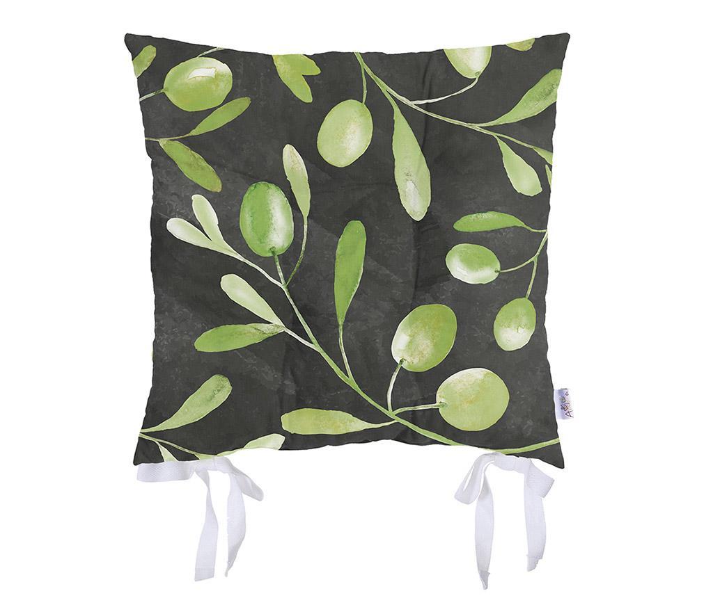 Perna de sezut Olive Garden Black 37x37 cm