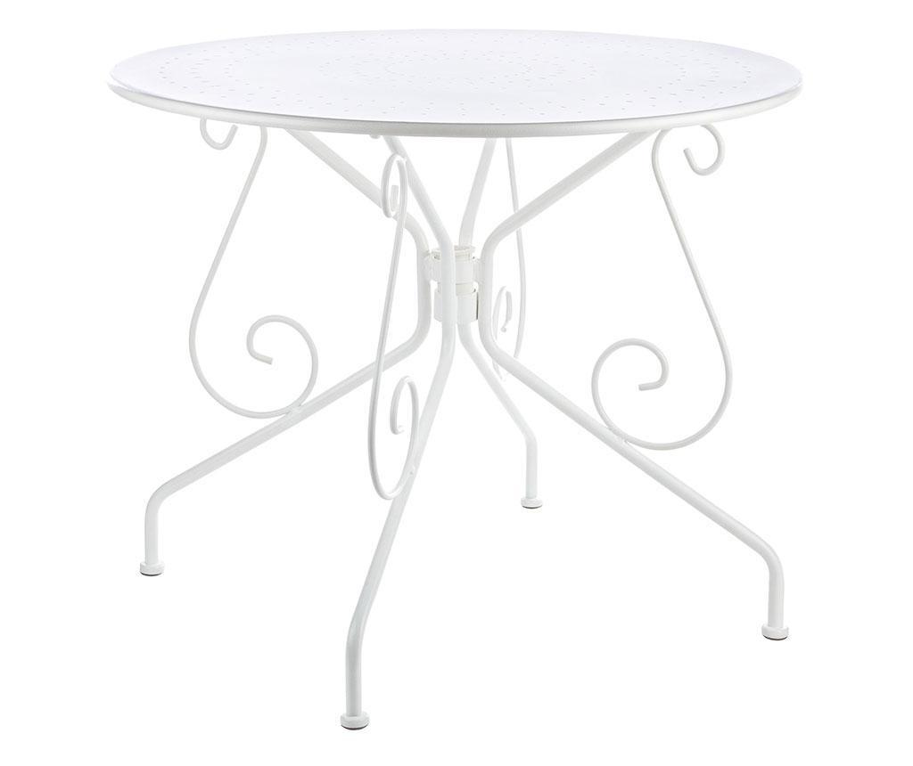 Vrtna miza Etienne Kia White