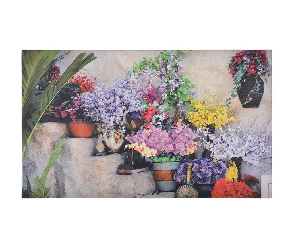 Wycieraczka Flowers on Stairs 45x76.2 cm