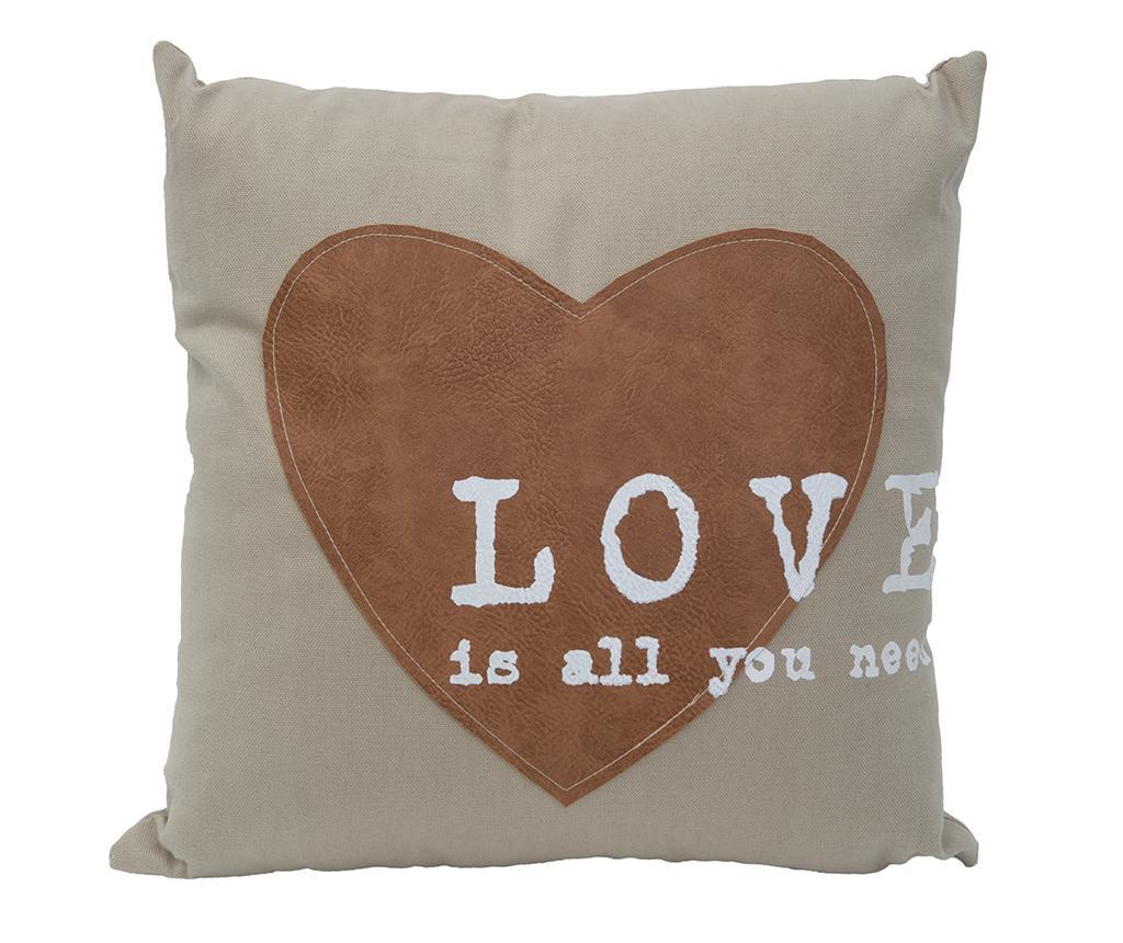 Perna decorativa Love 40x40 cm