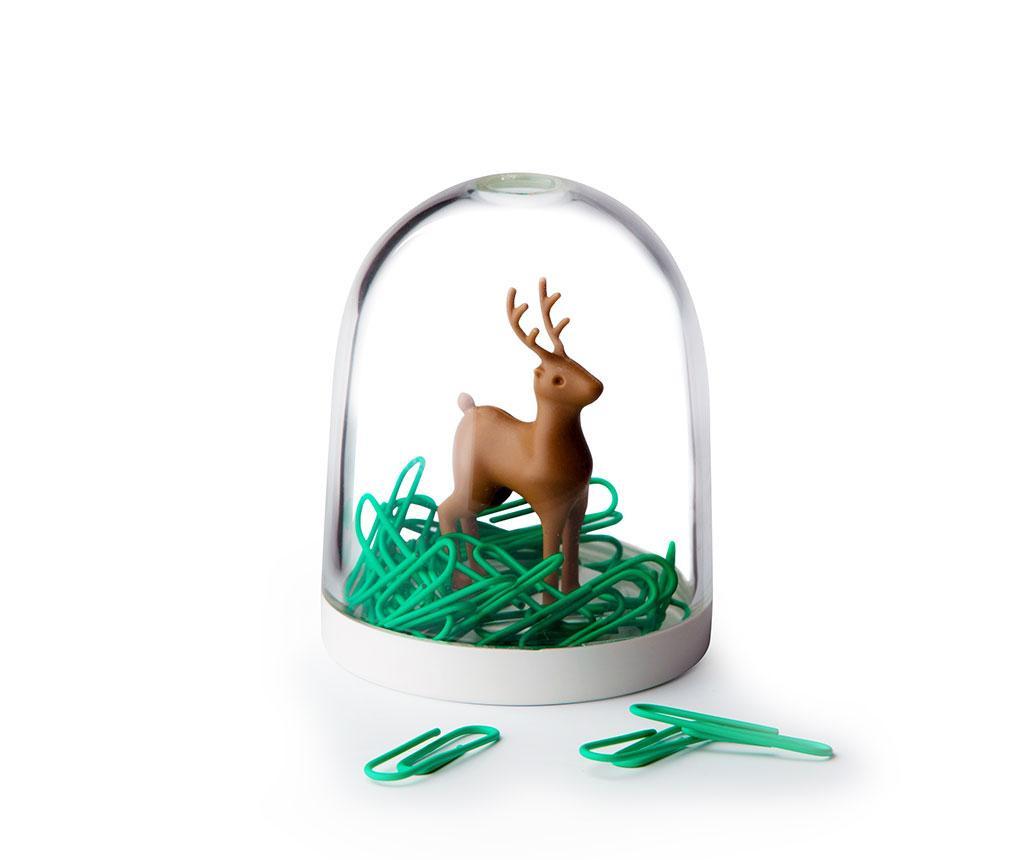Deer in the Forest 40 db Gémkapocs  tartóval