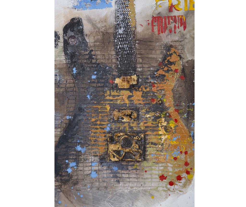 Tablou Guitar Art 90x120 cm