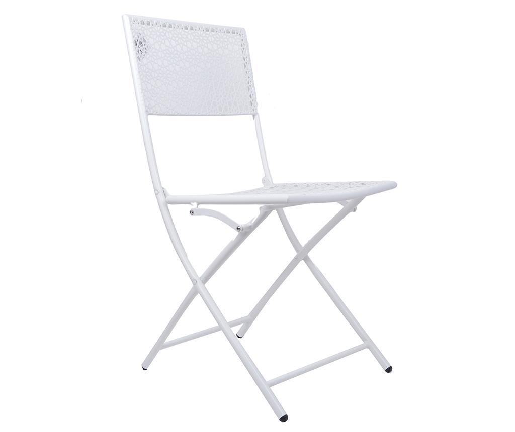 Skladacia stolička do exteriéru Bella White