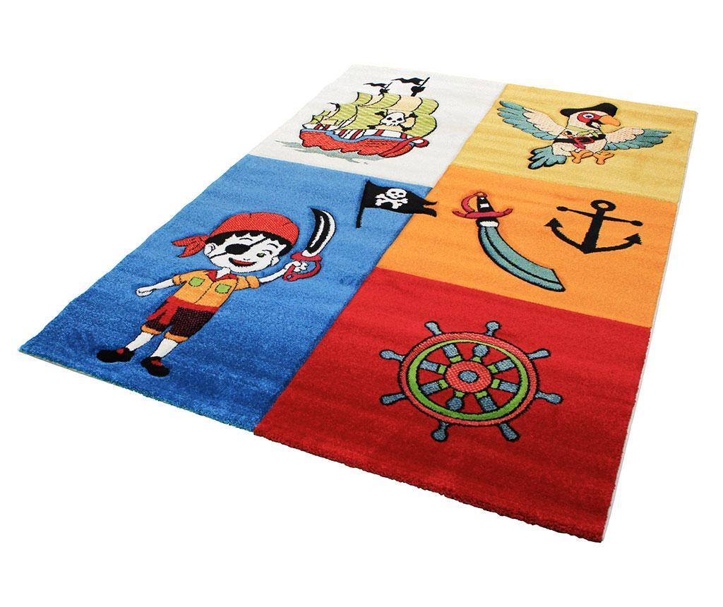Pirate Ship Multicolor Szőnyeg 160x230 cm