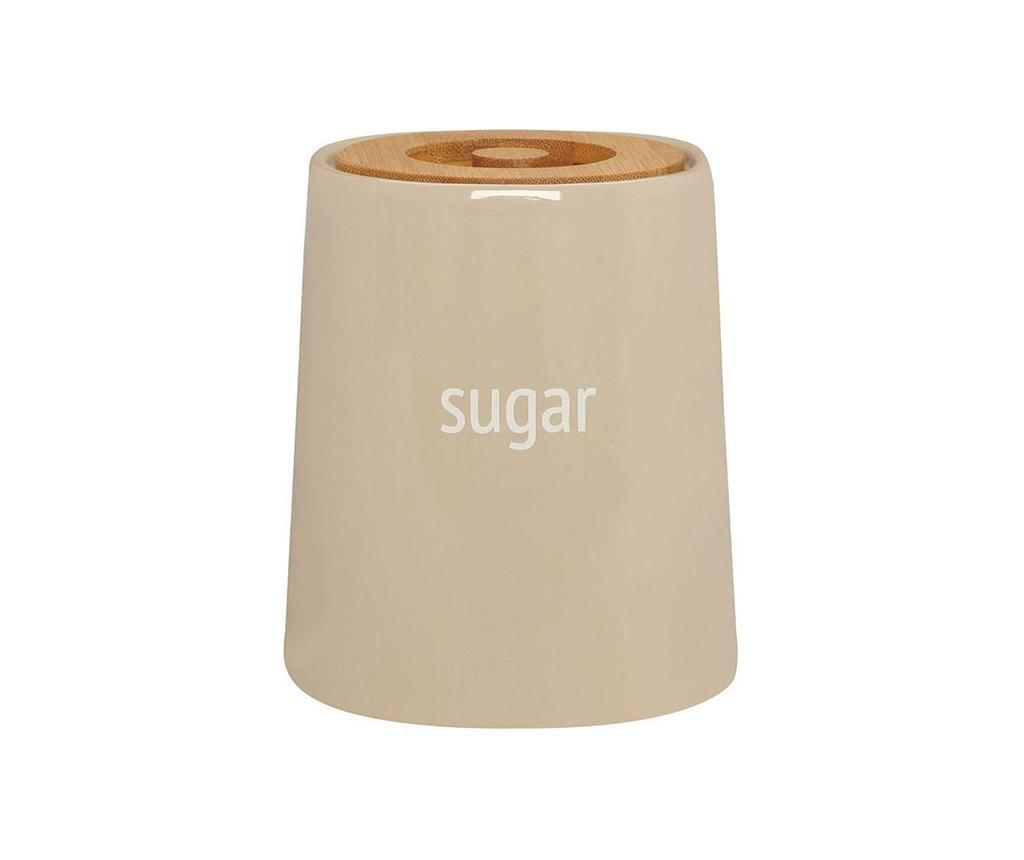 Recipient cu capac pentru zahar Ines Beige 800 ml