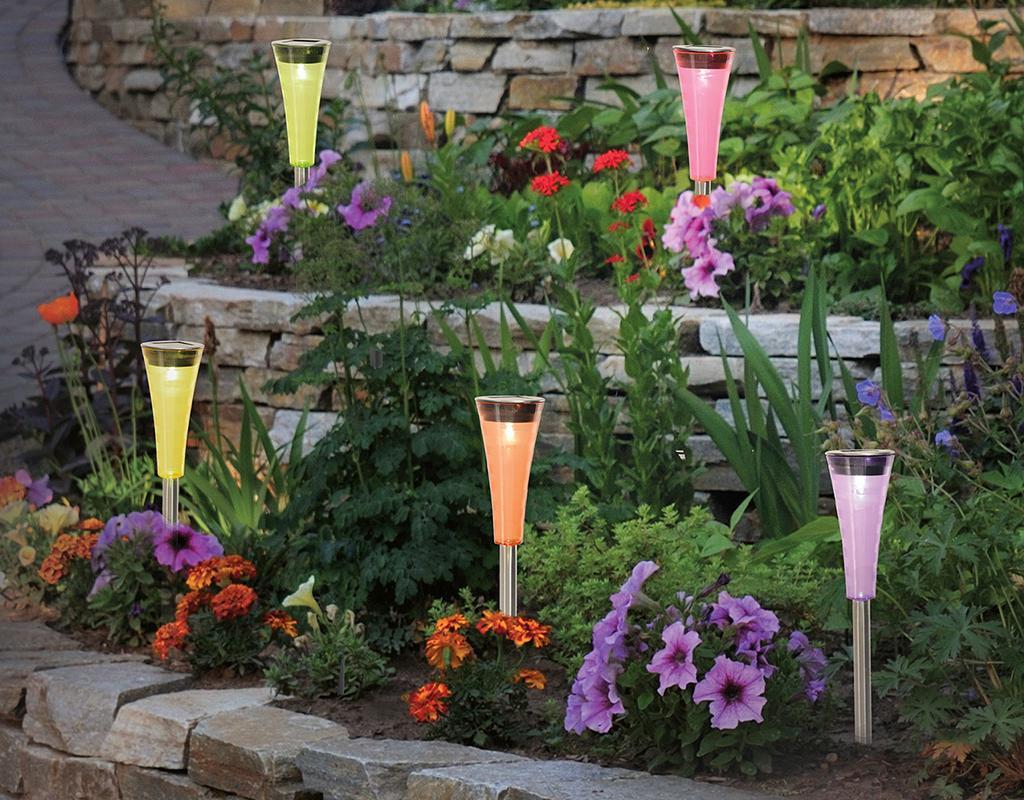 Set 5 solarnih svjetiljki Funny