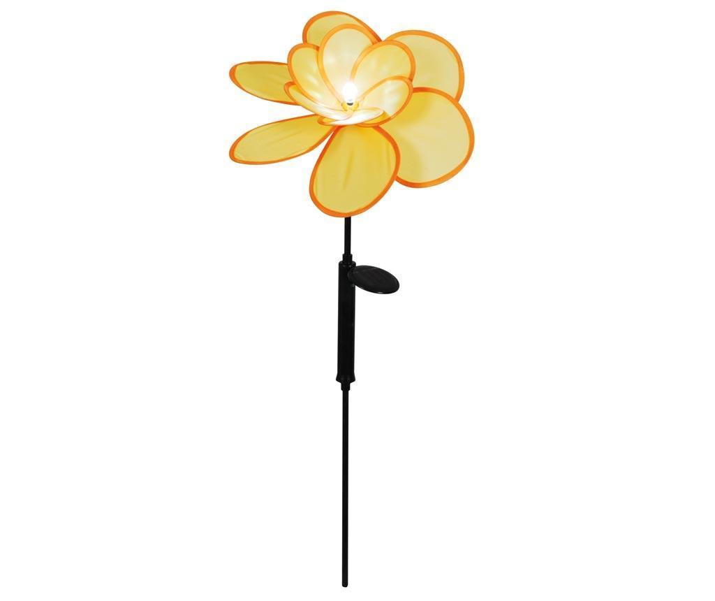 Lampa solara Yellow Flower