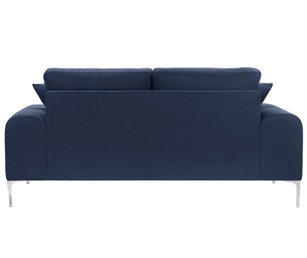 Dillinger Navy Blue Háromszemélyes Kanapé