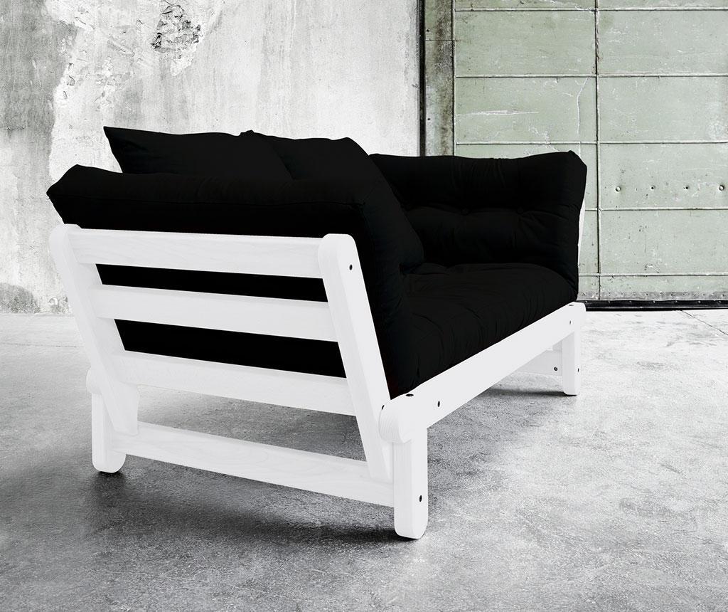 Sofa extensibila Beat White and Black