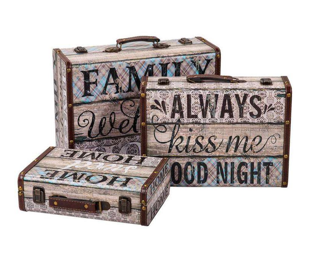Fernando 3 db Bőrönd  doboz