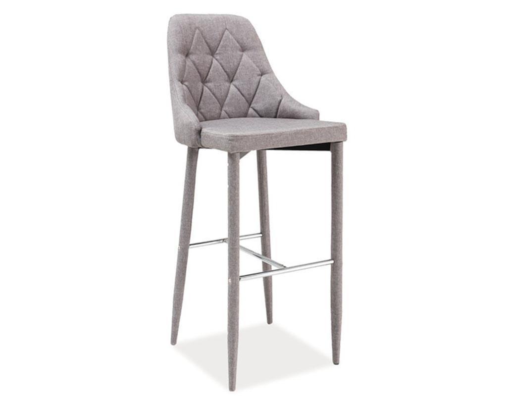 Barska stolica Tom Light Grey