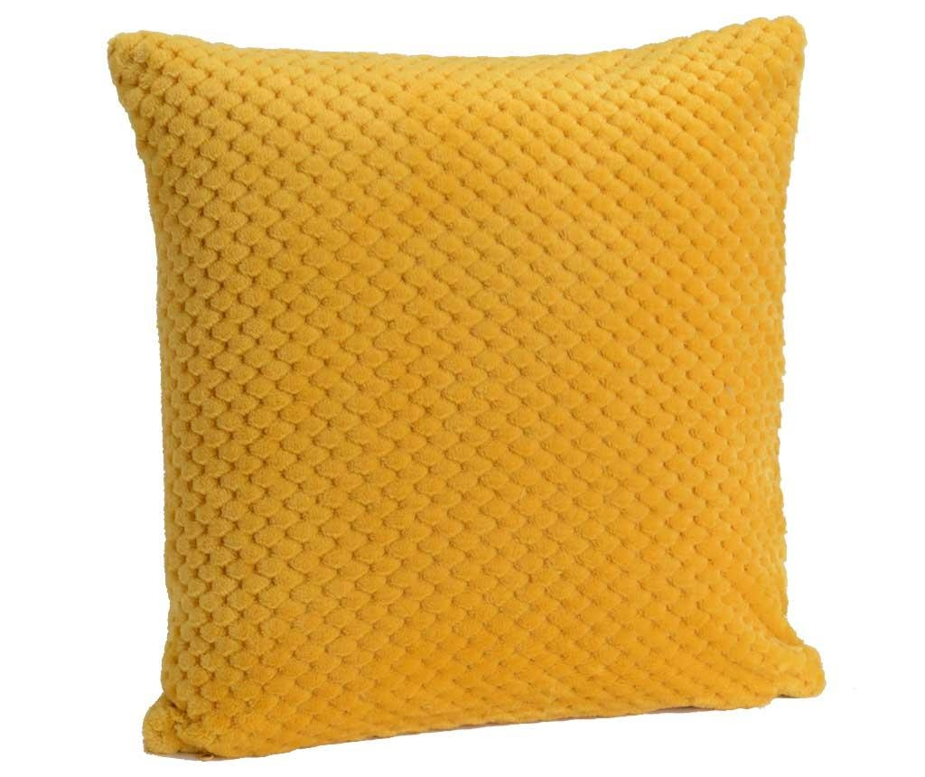 Ukrasni jastuk Chess Yellow 40x40 cm