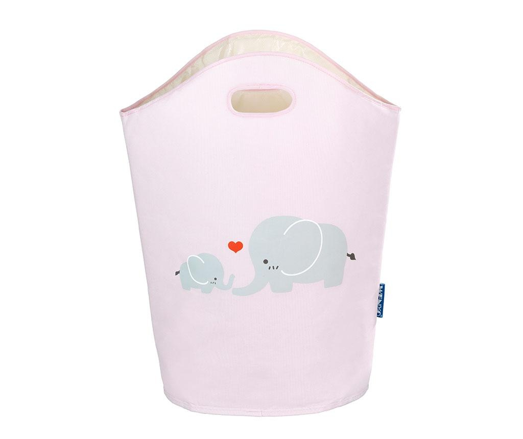Torba za rublje Baby Elephant Rose 24 L