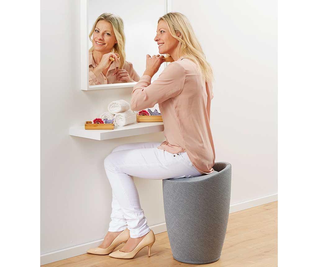 Kupaonska stolica Candy Light Grey 20 L