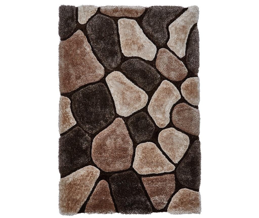Dywan Noble House Beige and Brown 120x170 cm
