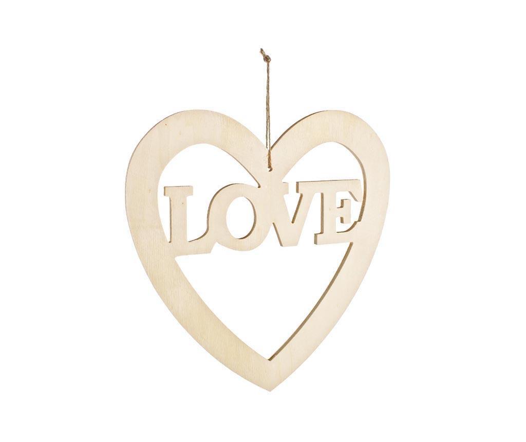 Love Felfüggeszthető festhető  dekoráció