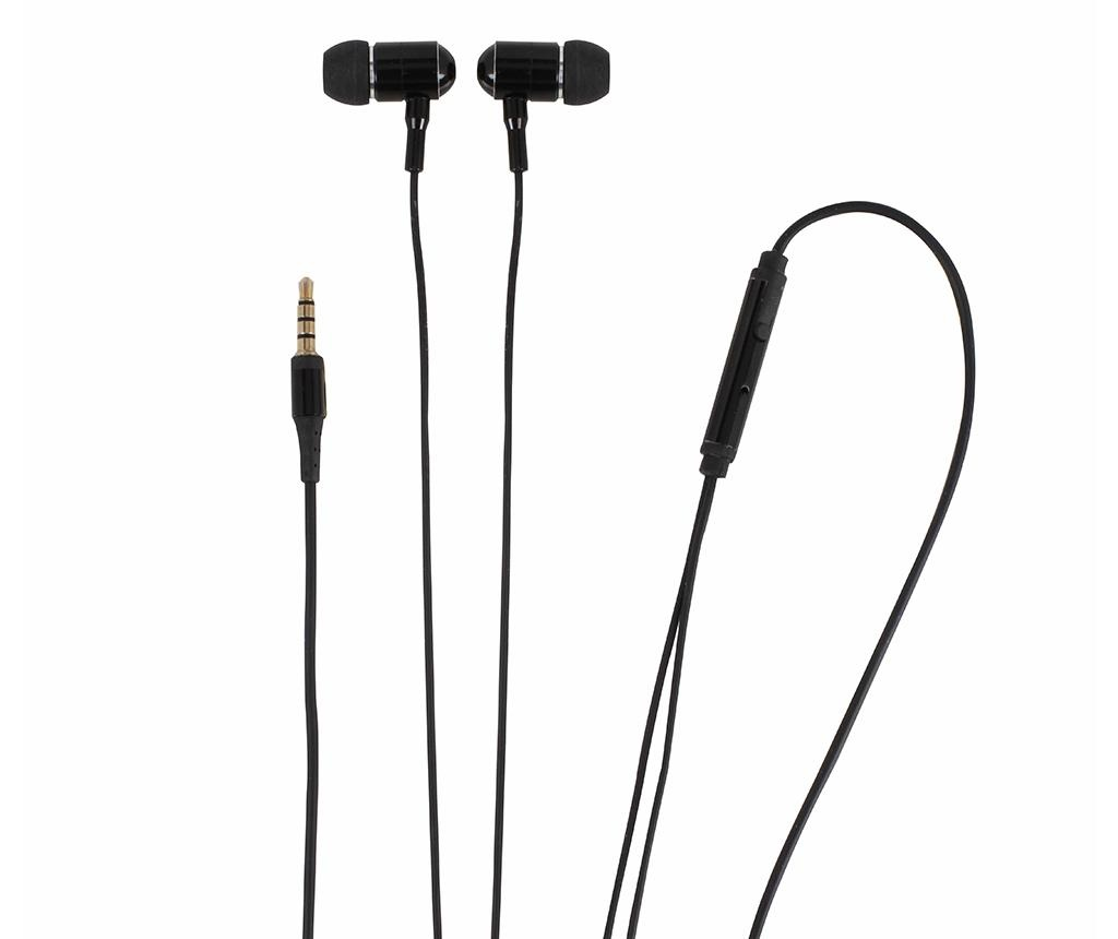 Dost Black Fülhallgató mikrofonnal