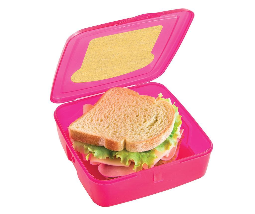 Energy Sandwich Pink Ételtároló 500 ml