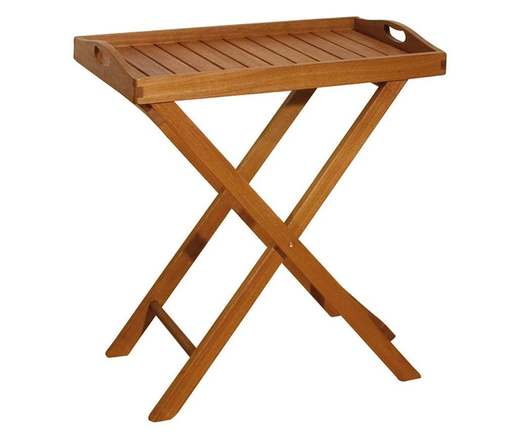 Venkovní stolek s podnosem Dallas
