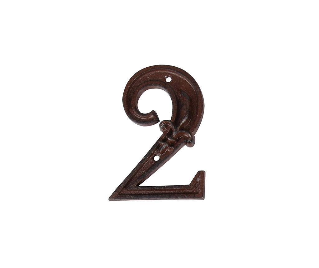 Numar pentru casa Two